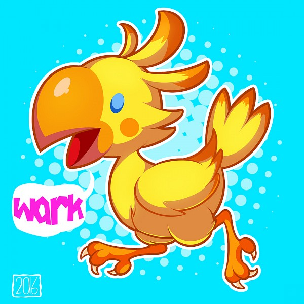 Tags: Anime, Woofzilla, Final Fantasy Fables: Chocobo's Dungeon, Chocobo, Self Made, Pixiv, Fanart From Pixiv, Fanart
