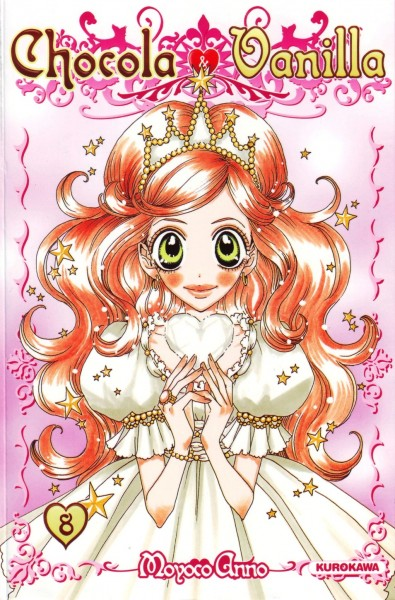 Tags: Anime, Moyoco Anno, Sugar Sugar Rune, Chocolat Meilleure, Manga Cover, Scan, Official Art