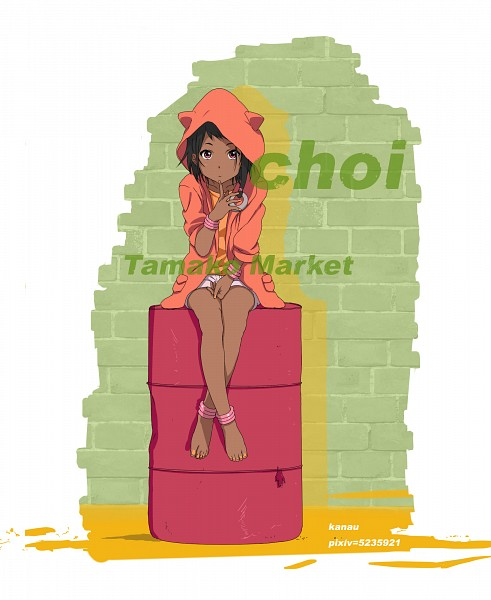 Tags: Anime, Kanau, Tamako Market, Choi Mochimazzi, Fanart From Pixiv, Pixiv, Fanart
