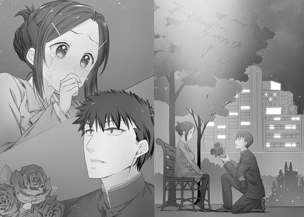 Tags: Anime, Nanase Meruchi, Choppiri Toshiue Demo Kanojo Ni Shite Kuremasu Ka?, Official Art, Character Request, Novel Illustration