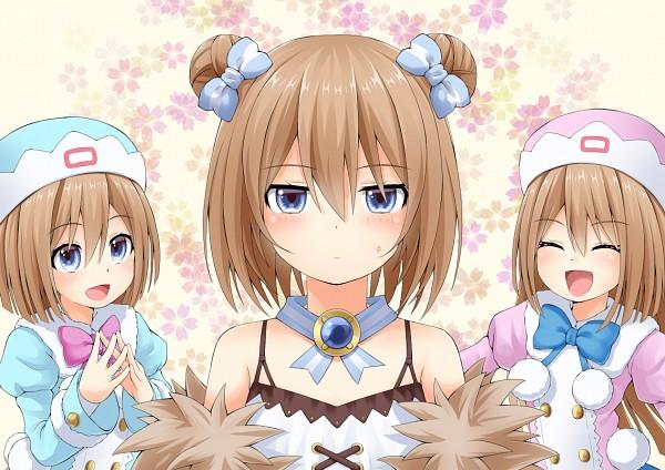 Tags: Anime, Pixiv Id 12676132, Choujigen Game Neptune, Blanc (Choujigen Game Neptune), Rom (Choujigen Game Neptune), Ram (Choujigen Game Neptune), Pixiv, Fanart From Pixiv, Fanart, Hyperdimension Neptunia