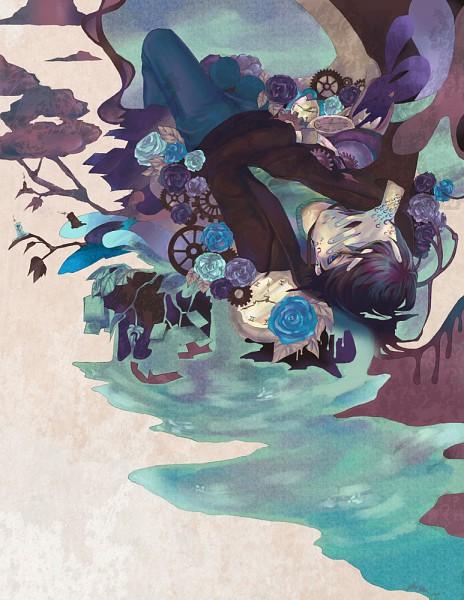 Tags: Anime, Chowpan, Black Flower, deviantART, Original