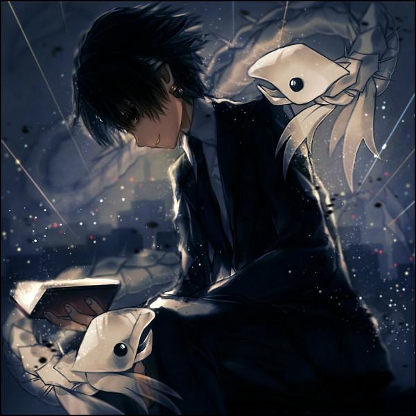 Tags: Anime, TKN (Pixiv5660890), Hunter x Hunter, Chrollo Lucifer, Pixiv, Fanart, Fanart From Pixiv