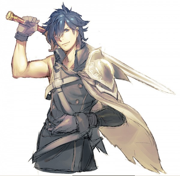 Tags: Anime, Kitunen, Fire Emblem: Kakusei, Chrom (Fire Emblem), Arms, Sketch, Fanart From Pixiv, Fanart, Pixiv