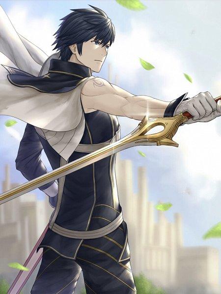 Tags: Anime, Pixiv Id 43878501, Fire Emblem: Kakusei, Chrom (Fire Emblem), Fanart, Fanart From Pixiv, Pixiv