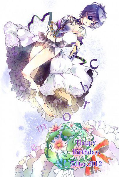 Tags: Anime, Yoshino Nase, Katekyo Hitman REBORN!, Chrome Dokuro, Fanart From Pixiv, Fanart, Pixiv, Mobile Wallpaper