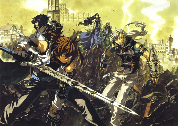 Tags: Anime, Chrome Shelled Regios, Alsheyra Almonise, Leifon Alseif
