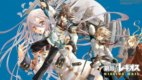 Tags: Anime, Chrome Shelled Regios, Nina Antalk, Felli, Sharnid Elipton, Leifon Alseif, Wallpaper