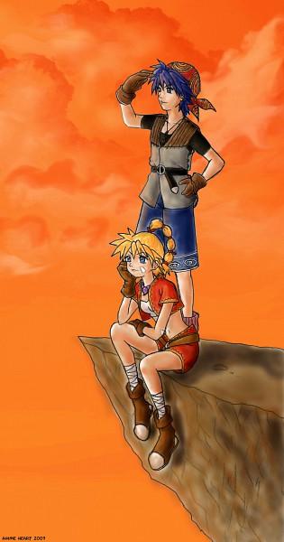 Tags: Anime, SQUARE ENIX, Chrono Cross, Kid (Chrono Cross), Serge