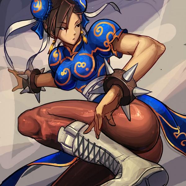 Tags: Anime, Pixiv Id 27280, Street Fighter, Chun-Li, Spiked Bracelet