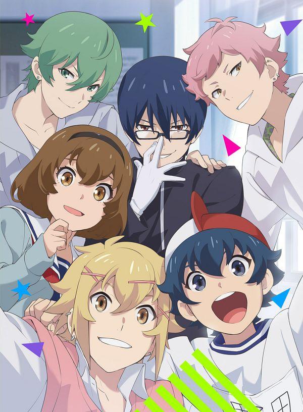 Tags: Anime, Matsuura Arisa, Studio DEEN, Chuubyou Gekihatsu Boy, Takashima Tomoki, Noda Yamato, Mikuriya Futaba, Hijiri Mizuki, Tsukumo Rei, Nakamura Kazuhiro, Key Visual, Official Art