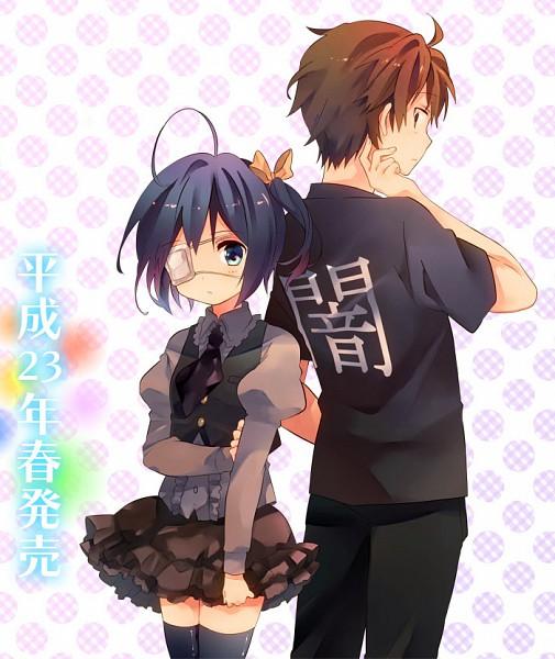 Tags: Anime, Ousaka Nozomi, Kyoto Animation, Chuunibyo Demo Koi ga Shitai!, Togashi Yuuta, Takanashi Rikka, Official Art, Love Chunibyo & Other Delusions!