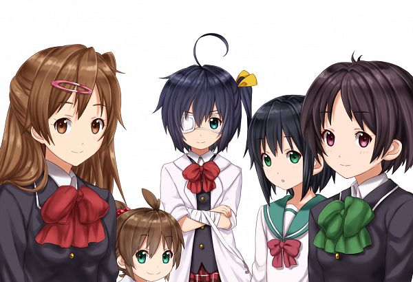Tags: Anime, Needlebomb, Chuunibyo Demo Koi ga Shitai!, Tsuyuri Kumin, Nibutani Shinka, Takanashi Rikka, Togashi Kuzuha, Togashi Yumeha, Love Chunibyo & Other Delusions!