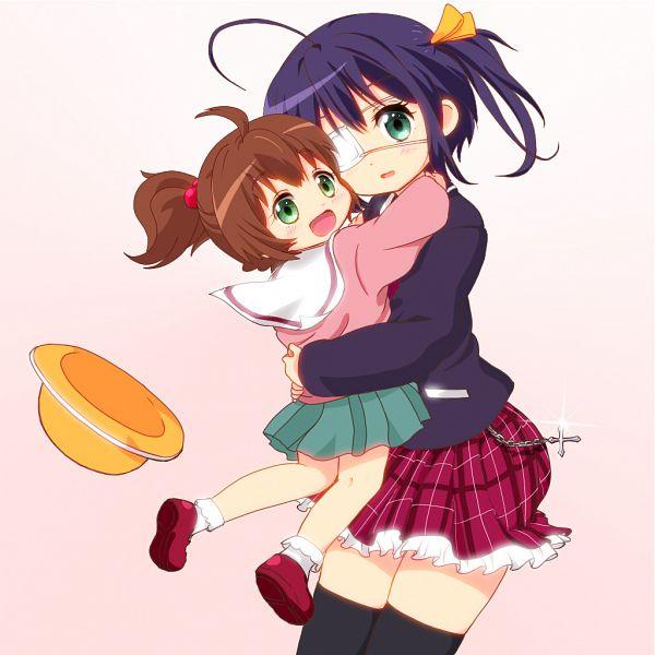 Tags: Anime, Pixiv Id 81092, Chuunibyo Demo Koi ga Shitai!, Togashi Yumeha, Takanashi Rikka, Kindergarten Uniform, Pixiv, Fanart, Love Chunibyo & Other Delusions!