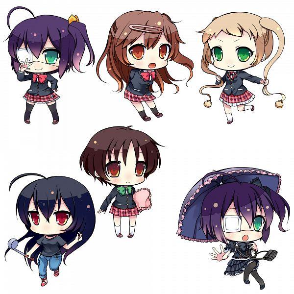 Tags: Anime, Narumiya Koneko, Chuunibyo Demo Koi ga Shitai!, Nibutani Shinka, Takanashi Rikka, Takanashi Touka, Dekomori Sanae, Tsuyuri Kumin, Love Chunibyo & Other Delusions!