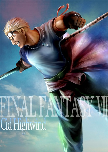 Cid Highwind - Final Fantasy VII