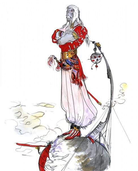 Cid Previa - Final Fantasy V