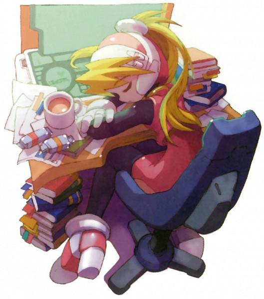 Tags: Anime, Rockman Zero, Ciel (Megaman Zero)