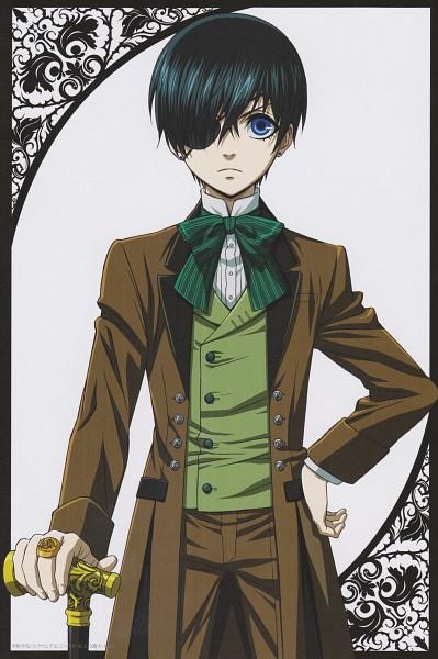 Tags: Anime, A-1 Pictures, Kuroshitsuji, Ciel Phantomhive, Kodona, Mobile Wallpaper, Post Card, Scan, Official Art