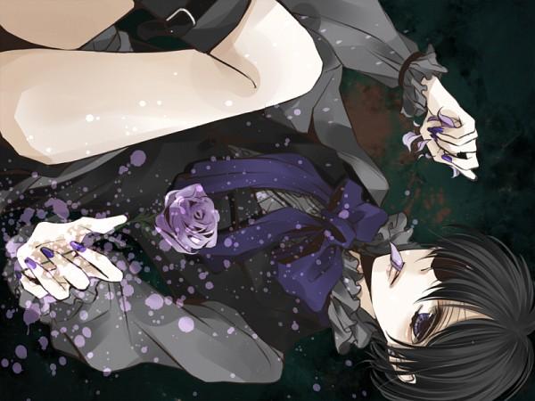 Tags: Anime, Ram (Pixiv1506226), Kuroshitsuji, Ciel Phantomhive, Pixiv, Fanart