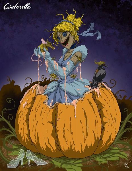 Tags: Anime, Jeftoon01, Cinderella, Cinderella (Character), Glass Shoes, Scarecrow, deviantART, Twisted Princess