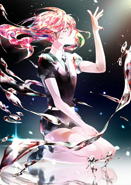 Tags: Anime, YoMiO-Lin, Houseki no Kuni, Cinnabar (Houseki no Kuni), Fanart, Fanart From Pixiv, Pixiv