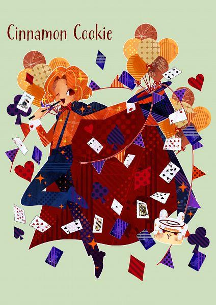 Tags: Anime, Pixiv Id 40328716, Cookie Run, Cinnamon Cookie, Cinnamon Bunny, Twitter, Fanart