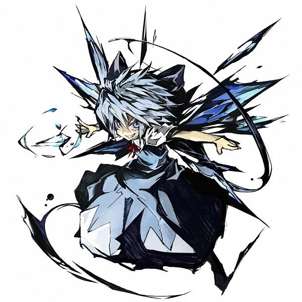 Tags: Anime, Banpai Akira, Touhou, Cirno, Fanart From Pixiv, Fanart, Pixiv, Revision