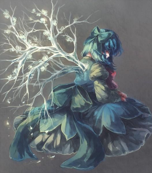 Tags: Anime, Koto Inari, Touhou, Cirno, Pixiv, Fanart From Pixiv, Fanart, PNG Conversion