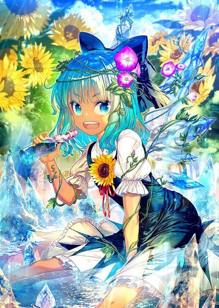 Tags: Anime, Zounose, Hidden Star in Four Seasons, Touhou, Cirno, Pixiv, Fanart From Pixiv, Fanart