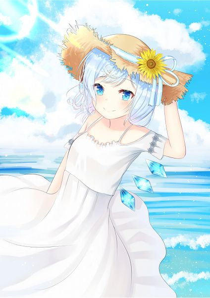 Tags: Anime, Pixiv Id 8886572, Touhou, Cirno, Pixiv, Fanart, Fanart From Pixiv