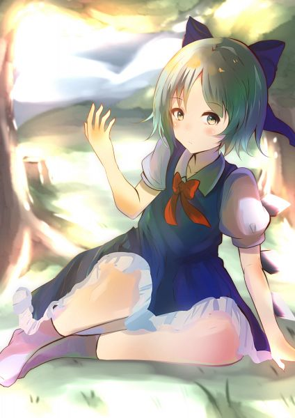 Tags: Anime, Pixiv Id 11112859, Touhou, Cirno, Fanart, Fanart From Pixiv, Pixiv