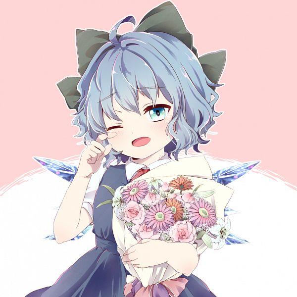 Tags: Anime, Pixiv Id 18084741, Touhou, Cirno, Cirno Day, Fanart, Fanart From Pixiv, Pixiv