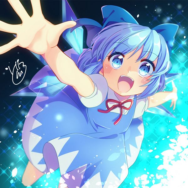 Tags: Anime, Pixiv Id 2107061, Touhou, Cirno, Fanart From Pixiv, Pixiv, Fanart