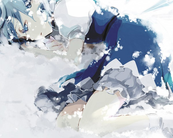 Tags: Anime, Popoin, Touhou, Cirno, 1000x800 Wallpaper