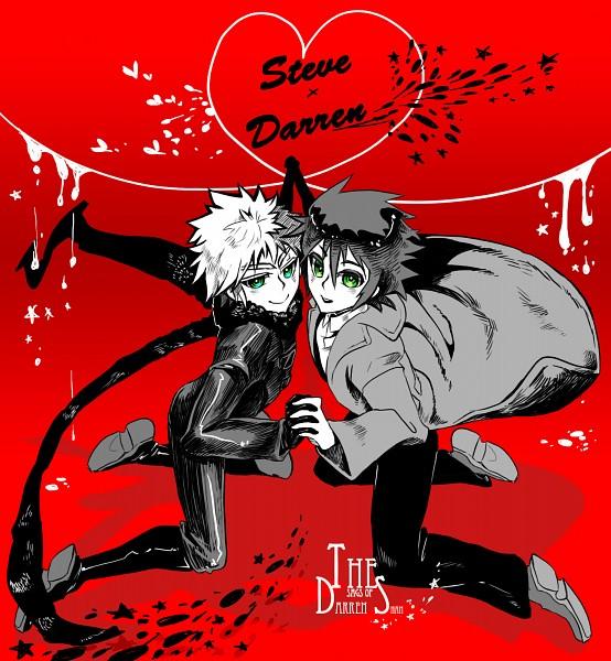 Tags: Anime, Pixiv Id 869783, Cirque du Freak (Book), Darren Shan (Character), Steve Leonard