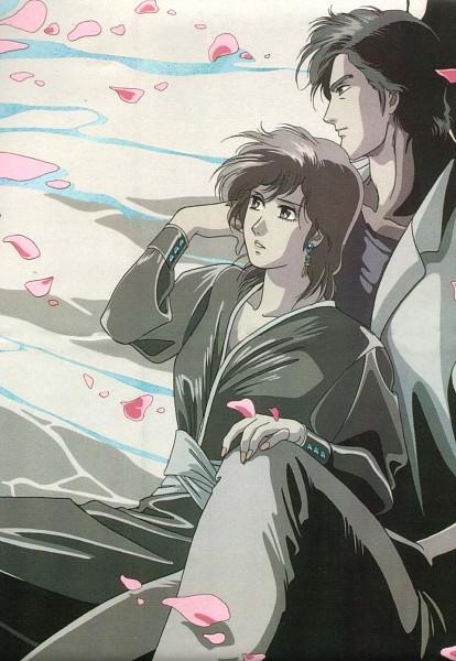Tags: Anime, City Hunter, Makimura Kaori, Official Art