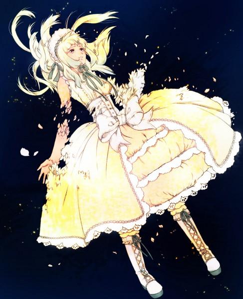 Tags: Anime, Kaisen, 07th Expansion, Umineko no Naku Koro ni, Claire Bernardus, Dying, Disappearing, Fanart, Pixiv