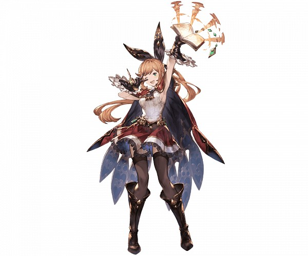 Tags: Anime, Minaba Hideo, Cygames, Granblue Fantasy, Clarice (Granblue Fantasy), Cover Image, PNG Conversion, Official Art