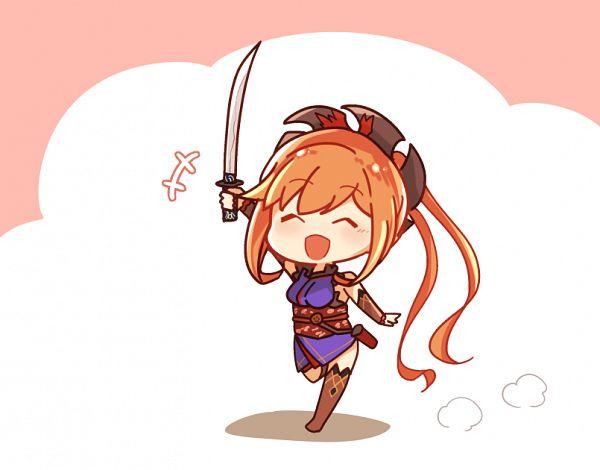 Tags: Anime, Pixiv Id 3733098, Granblue Fantasy, Clarice (Granblue Fantasy), Saber (Miyamoto Musashi) (Cosplay), Fanart From Pixiv, Pixiv, Fanart