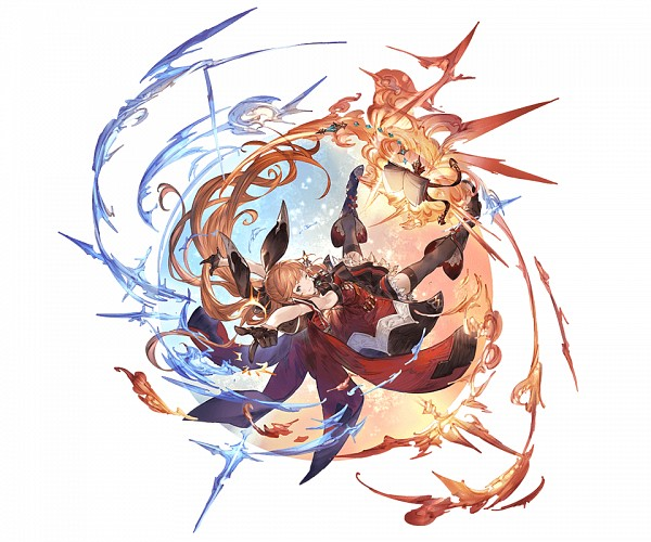 Tags: Anime, Minaba Hideo, Cygames, Granblue Fantasy, Clarisse (Granblue Fantasy), Official Art, Cover Image