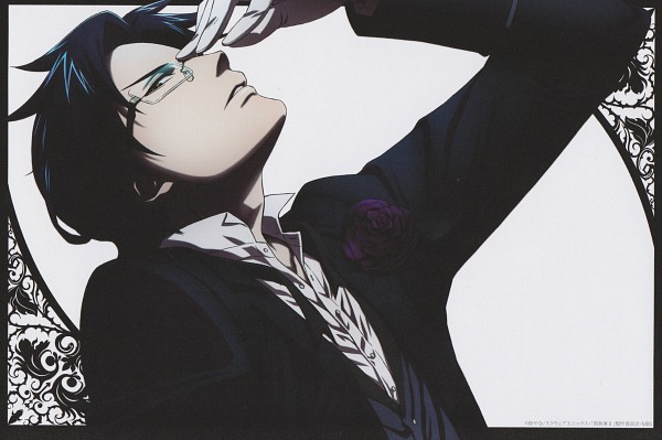 Tags: Anime, A-1 Pictures, Kuroshitsuji, Claude Faustus, Post Card, Replacement, Scan, Official Art