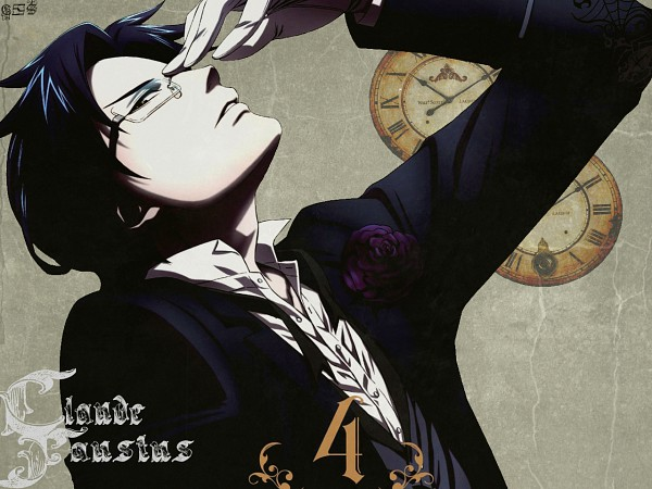 Tags: Anime, Kuroshitsuji, Claude Faustus, Wallpaper, Fanmade Wallpaper, Edited