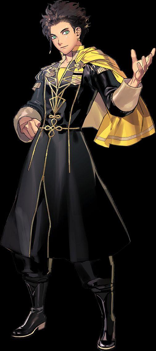 Claude von Regan - Fire Emblem: Fuuka Setsugetsu