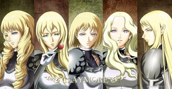 Tags: Anime, Baidu Id 3410411, Claymore, Flora (Claymore), Galatea, Teresa, Clare, Anastasia (Claymore), Fanart, Facebook Cover