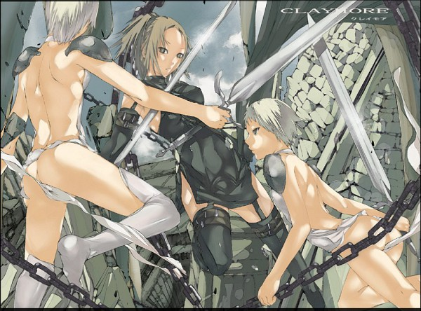 Tags: Anime, Claymore, Miria (Claymore), Unnamed Twins