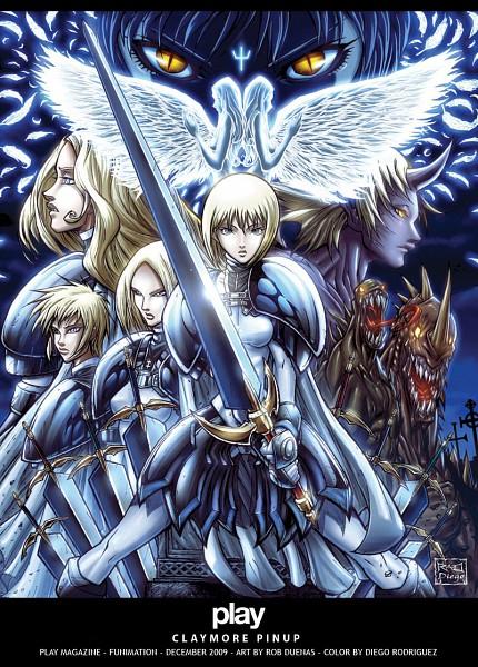 Tags: Anime, Claymore, Helen, Teresa, Deneve, Priscilla (Claymore)