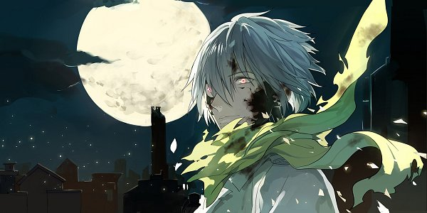 Tags: Anime, Pixiv Id 909965, DRAMAtical Murder, Clear (DMMd), Facebook Cover, Fanart From Pixiv, Revision, Pixiv, Fanart