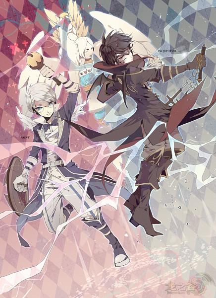Tags: Anime, Josco, Dragon Nest, Cleric (Dragon Nest), Pixiv, Mobile Wallpaper, Fanart