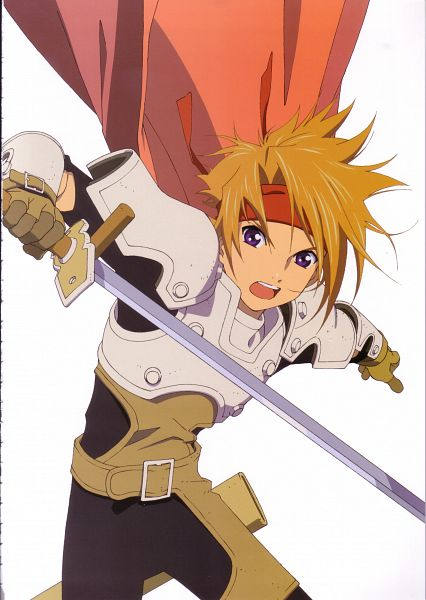 Tags: Anime, Tales of Phantasia, Official Art